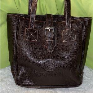 Dooney & Bourke Vintage Leather tote shoulder bag